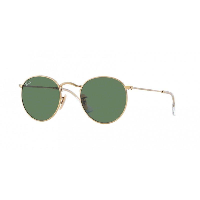 d3a5676b17 RAY-BAN Round Metal RB3447 001 Unisex Sunglasses