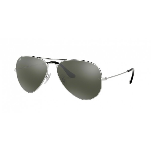 Ray-Ban Rb3025 W3277 Silver Mirror Aviator